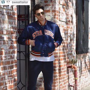Vintage Starter jacket Syracuse Orange 80s 90s VTG